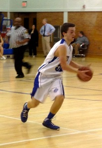 Senior Richie Todd in a game against Nutley