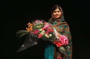 Malala Yousafzai. Image courtesy of unfpa.org.