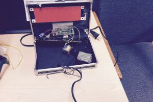 Photograph of Ahmed Mohamed's Clock (www.mirror.co.uk)